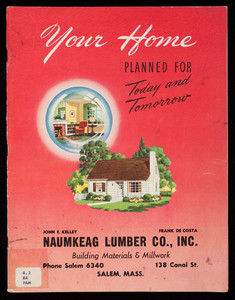 Your home planned for today and tomorrow, National Plan Service, Inc., Chicago, Illinois