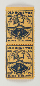 Stamps: Old Home Week