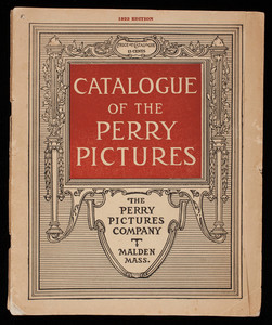 Catalogue of the Perry Pictures, 1923 edition, Perry Pictures Company, Malden, Mass.