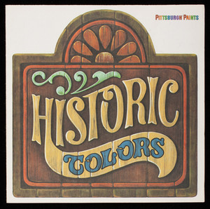 Historic colors, Pittsburgh Paints, PPG Industries, Pittsburgh, Pennsylvania