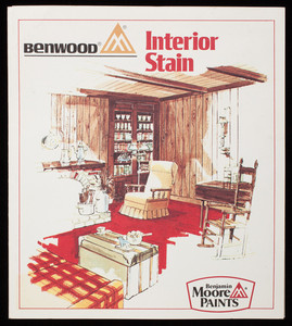 Benwood Interior Stain, Benjamin Moore Paints, Benjamin Moore & Co., Montvale, New Jersey