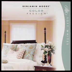 Benjamin Moore color preview, soft whites, Benjamin Moore & Co., Montvale, New Jersey