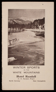 Winter sports in the White Mountains, Hotel Randall, North Conway, New Hampshire