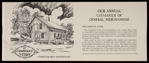 Our annual catalogue of general merchandise, Tremont Nail Company, Elm Street, Wareham, Mass.