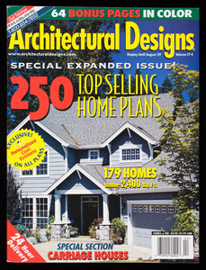 Architectural designs, special expanded issue! 250 top selling home plans, volume 17-4, Architectural Designs, 274 Riverside Avenue, Westport, Connecticut