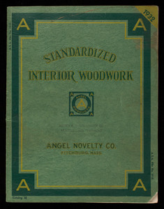 Standardized interior woodwork, Angel Novelty Co., Broad Street, Fitchburg, Mass.