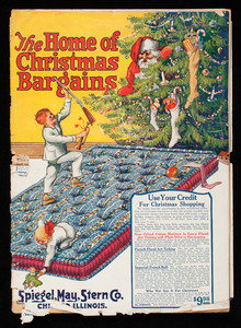 Home of Christmas bargains, Spiegel, May, Stern Co., 1061-1101 W. 35th Street, Chicago, Illinois