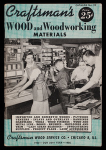 Craftsman's wood and woodworking materials, catalog no. 23, Craftsman Wood Service Co., Chicago, Illinois