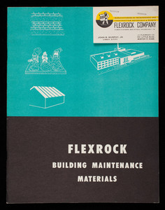 Flexrock building maintenance materials, Flexrock Company, Filbert & Cuthbert, west of 36th, Philadelphia, Pennsylvania