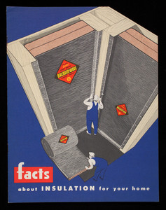 Facts about insulation for your home, Wood Conversion Company, First National Bank Bldg., St. Paul, Minnesota