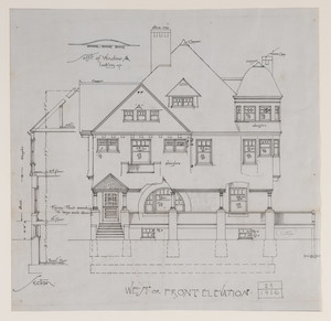 Nevin and Sanderson Architectural Drawings Collection