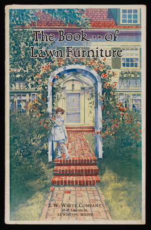 Book of lawn furniture, 4th ed., Long-Bell Lumber Company, Kansas City, Missouri