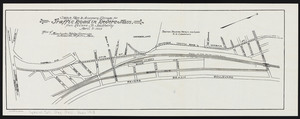 Sketch plan to accompany estimate for traffic road in Revere, Mass.: from Revere St. southerly
