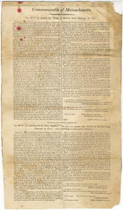 An act to secure the Town of Boston from damage by fire An act in addition to an act, entitled An act to secure the Town of Boston from damage by fire, and repealing certain parts thereof.