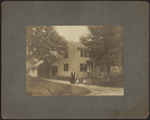 West Bridgewater house with family