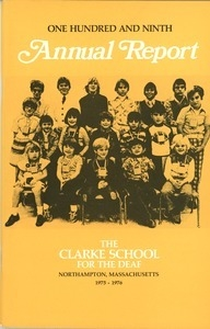 Clarke School for the Deaf Records