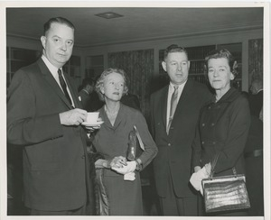 Attendees of NYU affiliation ceremony