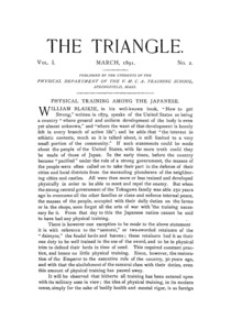 The Triangle, March, 1891