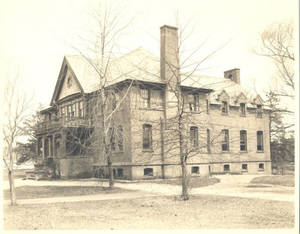 Woods Hall South Side, c. 1943