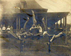 Parallel Bars Routine, c. 1915