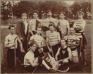 1900 Springfield College Men's Field Hockey Team