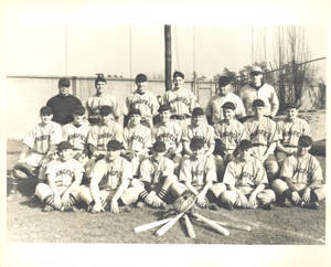 1941 Springfield College Baseball Team