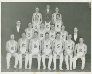 SC Men's Gymnastics Team, c. 1943