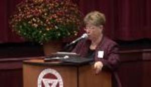 "Dr. Donna A. Lopiano: ""An Antidote to Sexist Media Culture"" (October 26, 2013)"