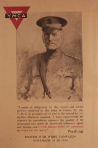 General Pershing YMCA poster (August 1918)