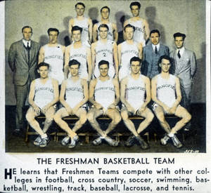 Freshman Basketball Team (c. 1932)