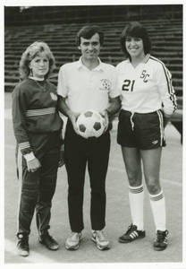 Coach Herb Zettl with Players