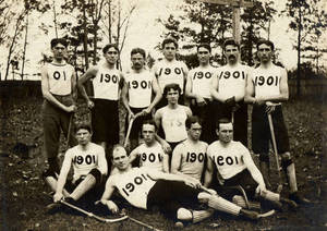 Springfield College Men's Field Hockey Team, 1901