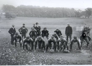 Football Team in Formation (c. 1904-1905)