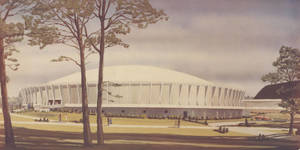 Architectural Sketch of the Physical Education Complex