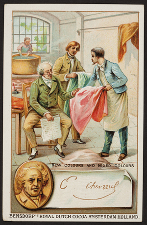 Trade card for Bensdorp's Royal Dutch Cocoa, Amsterdam, Holland, undated
