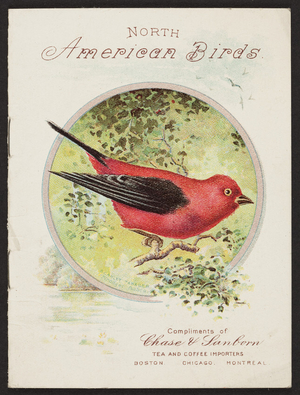 North American birds, Chase & Sanborn, Boston, Chicago, Montreal, 1905