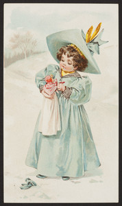 Trade card for Simpson, McIntire & Co. Diamond Creamery, Boston, Mass., undated