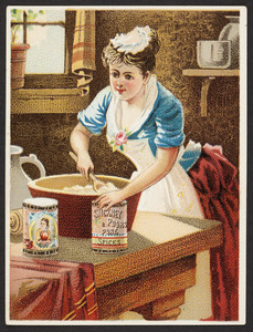 Trade cards for Stickney & Poor's Mustards, Spices & Extracts, 205 and 207 State Street, Boston, Mass., undated