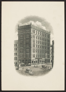 Trade card for Samuel S. Pierce, grocer, Tremont and Court Streets, Boston, Mass., undated