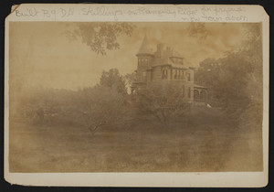 Exterior view of Rangeley Ridge house, Winchester, Mass., undated
