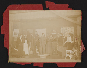 Amusement Club at Rangeley Hall, Winchester, Mass., December 19, 1894