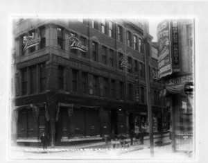 Building corner Washington and Winter Streets, south side Winter, 443 Washington St., Boston, Mass., undated