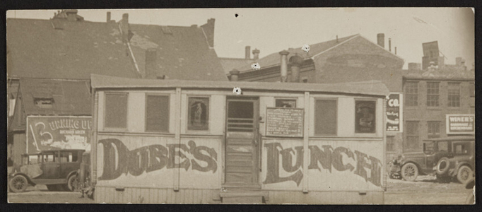Dube's Lunch, 24 1/2 New Derby Street, Salem, Mass., ca. 1927