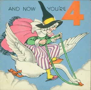 Birthday cards, ca. 1940-1949