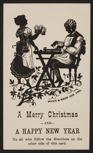Trade card for W.F. Pearson, candy manufactory, 37 1-2 Merrimack Street, Lowell, Mass., undated
