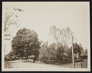 Eleazer Arnold House, shortly after acquisition, Lincoln, Rhode Island, October 18, 1919