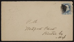 Envelope for C.J. Fay, felt carpeting & plastering, Camden, New Jersey, undated