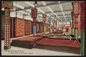 Daylight Rug Salesroom 1st floor, O.W. Richardson & Co., corner Wabash Avenue and Congress Street, Chicago, Illinois, undated