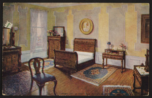 Postcard for A.A. Soule, complete house furnisher, 185 Water Street, August 1912