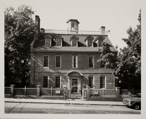 Exterior view of the Warner House, Daniel St., Portsmouth, Mass., August 30, 1978.